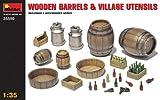 """MINIART Echelle 1: 35cm corps en bois et village Ustensiles """"Kit de modèle en plastique"""