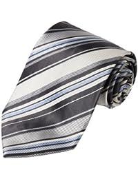 FAA3A6 Beautiful Stripes Perfect Gifts Woven Silk Tie Fantastic Set By FashionOn