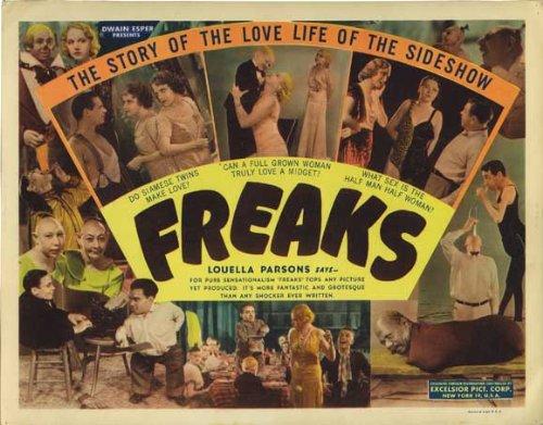 Freaks POSTER Movie (1932) Half Sheet Style A 22 x 28 Inches - 56cm x 72cm (Wallace Ford)(Olga Baclanova)(Leila Hyams)(Roscoe Ates)(Harry Earles)(Henry Victor)(Daisy (22 Half Sheet Movie Poster)