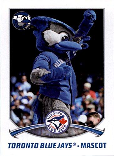 2015 Topps Stickers #46 Toronto Blue Jays Mascot -