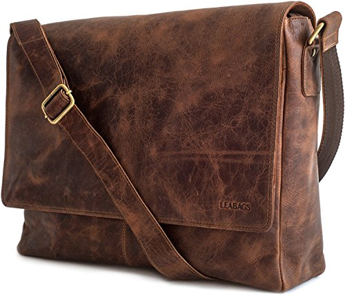 buffalo Crazyvinkat style messenger CrazyVinkat in LEABAGS leather vintage Oxford bag genuine EW8qva