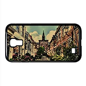Street In Holland Watercolor style Cover Samsung Galaxy S4 I9500 Case (Netherlands Watercolor style Cover Samsung Galaxy S4 I9500 Case)