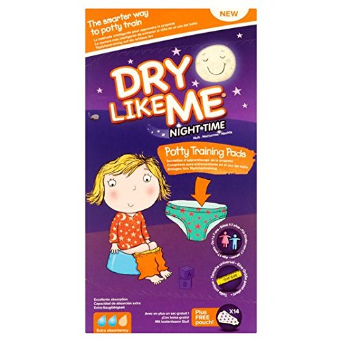 Dry Like Me Night Time Potty Training Pads 14 pro Packung