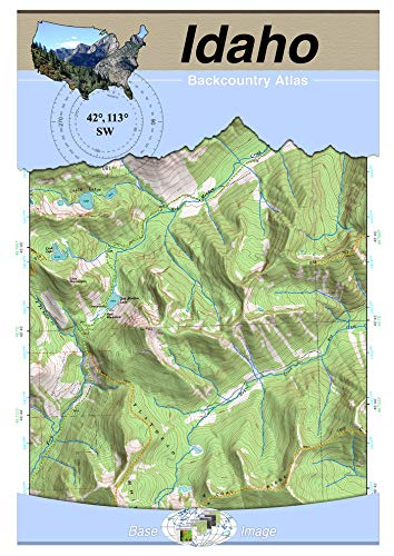 (42°113° SW - Oakley, Idaho Backcountry Atlas (Topo))
