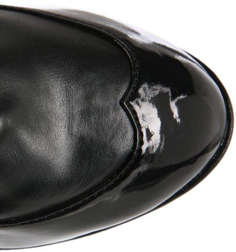 by Funtasma Black Black Pleaser Women's Ankle Boot Cop Polyurethane 1qTwfq