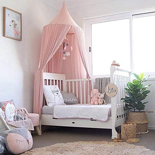 Piu Fashion Bed Canopy Dream Tent Curtains and Crib Canopy for Girls and Boys Bedding Game -