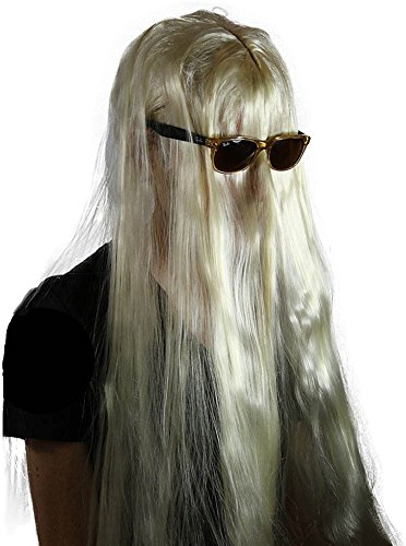 Cousin It Costumes - My Costume Wigs Men's Cousin it Wig (Blonde) One Size fits all