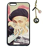Fanstown BTS kpop IN THE MOOD FOR Love pt.2 iphone 6 plus/iphone 6s plus case + Dust plug charm (003)