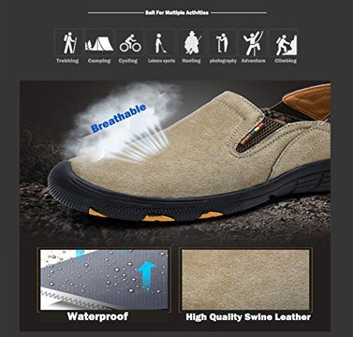 Faux Shoe per Rides Con e Icegrey Grey Lace Walking Fur Man trekking Inner Shoes Trekking RIq0qf8