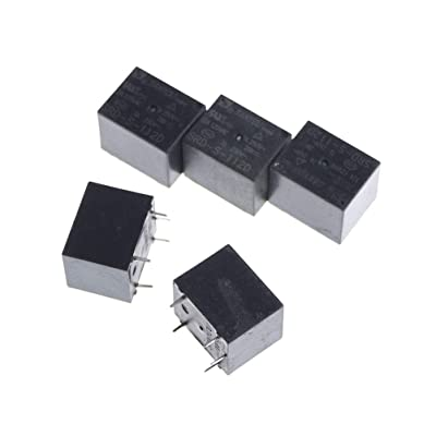 5 Pcs 12V DC SRD-S-112D Mini Power Relay: Industrial & Scientific