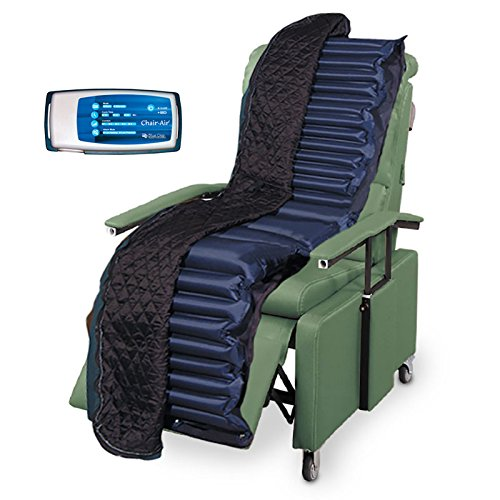 DIALYSIS RECLINER PAD ALTERNATING AIR, Portable Comfort, Ulcer Prevention, Pressure Relief ()