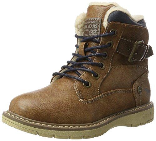 Mustang Unisex-Kinder 5017-624-301 Stiefel Braun (Kastanie)
