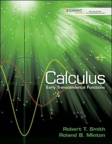 Pdf Math Calculus: Early Transcendental Functions