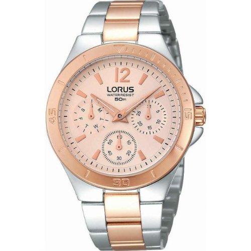 Lorus Reloj analogico para Mujer de Cuarzo con Correa en Acero Inoxidable RP614BX9