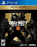 Call Of Duty: Black Ops 4 Digital Deluxe- PS4 [Digital Code]