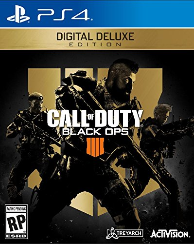 Call Of Duty: Black Ops 4 Digital Deluxe- PS4 [Digital Code] by Activision