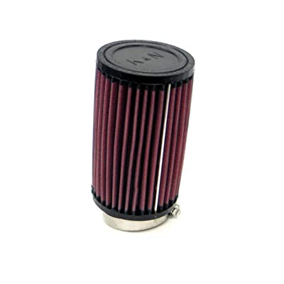 K&N Universal Clamp-On Air Filter: High Performance, Premium, Washable, Replacement Engine Filter: Flange Diameter: 2.25 In, Filter Height: 6 In, Flange Length: 0.75 In, Shape: Round, RU-1090: Automotive
