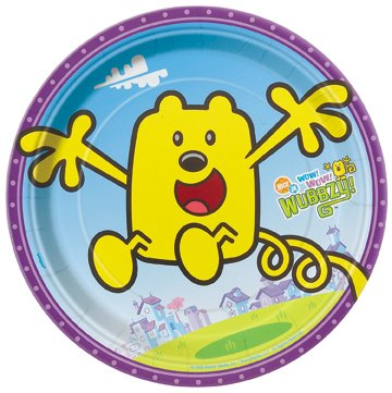 Wow! Wow! Wubbzy! Small Paper Plates (8ct) -