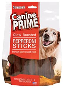 Sergeant's Pepperoni Sticks 12-Count Dog Treat
