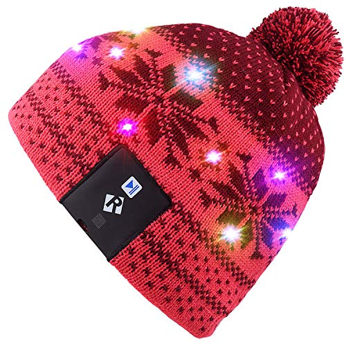 Jual Mydeal Stylish Unisex Men Women LED Light Up Beanie Hat Cap for ... be37fbd9909c