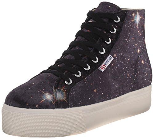 Superga Womens 2212 Velvetspacew Fashion Sneaker Black/Multi vDJyHvSw
