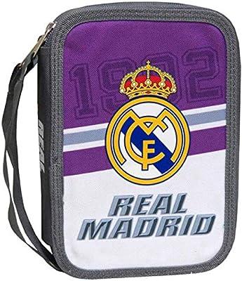 Estuche Real Madrid Doble 31 Piezas: Amazon.es: Juguetes y juegos