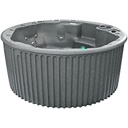 Essential Hot Tubs SS115220400 Arbor - 20 Jet, Grey Granite