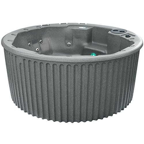 (Essential Hot Tubs SS1140200400 Arbor-20 Jet Hot Tub, Gray Granite)