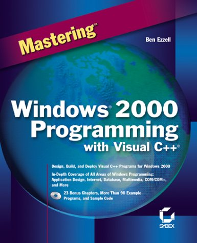 Mastering Windows 2000 Programming With Visual C++ by Brand: Sybex Inc