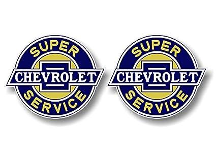 2 Vintage Super Chevrolet Service 4