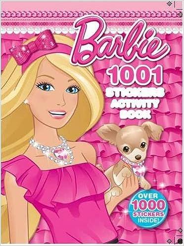 Barbie 1001 Sticker Activity Book: Amazon.de: Mattel: Fremdsprachige ...