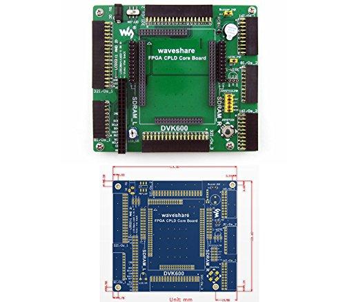 (CQRobot FPGA CPLD Mother Board (DVK600) Provides Several I/O Interfaces, Supports Various Accessory Boards, Compatible with CoreEP4CE10, CoreEP3C16, CoreEP2C8, Core3S500E.)