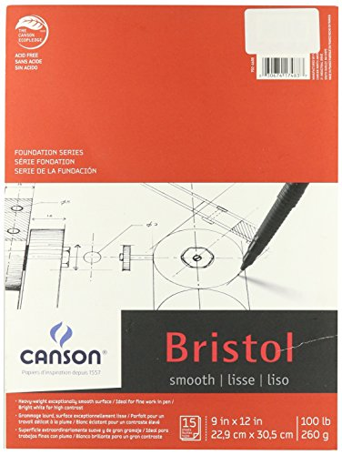 canson-foundation-series-9-x-12-inches-foundation-bristol-sheet-pad-c702-4600