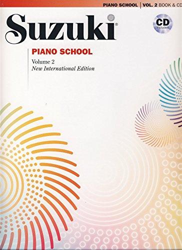 SUZUKI - Escuela 2º para Piano (Ed.International) (Inc.CD)