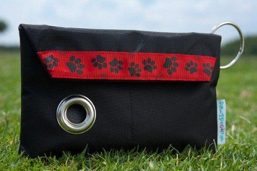 Dawgs on the Go JL50 DawggieGoPak Black with Red Ribbon Blac