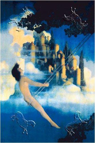 Dinky Bird, Art Poster by Maxfield Parrish