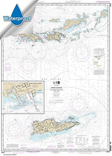 virgin islands nautical chart - 5