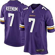 NIKE Case Keenum Minnesota Vikings NFL Youth Purple Home on-Field Jersey