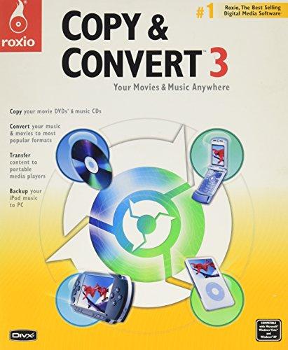 Roxio Copy Convert V 3 0