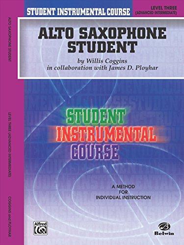 Student Instrumental Course Alto Saxophone Student: Level III
