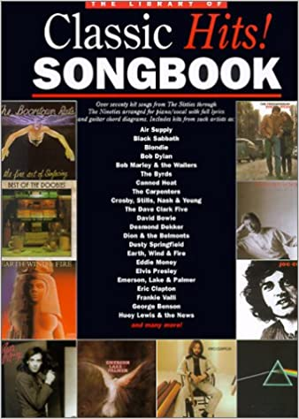 Library Of Classic Hits Songbook Series Amsco Publications 9780825618055 Amazon Books