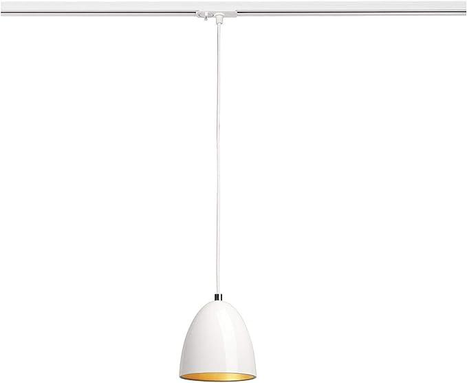 LED-Spot Decken-Leuchte Innen-Beleuchtung // E27 40.0W schwarz Schienensystem Decken-Strahler SLV 1 Phasen System Leuchte FORCHINI M // Strahler