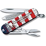 Victorinox VN55370 Classic American Flag WWP Knife For Sale