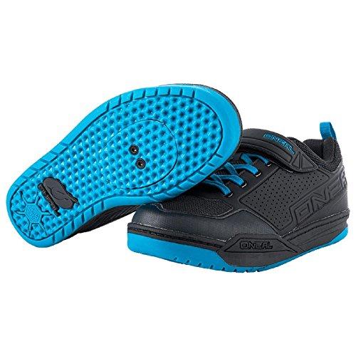 ONeal FLOW SPD Pedal Fahrrad Schuhe Sneaker MTB BMX DH FR All Mountain Bike Downhill Sport, 324 Blau