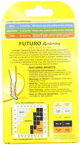 Futuro-Restoring-Dress-Socks-for-Men-Firm-Compression-X-Large-Black