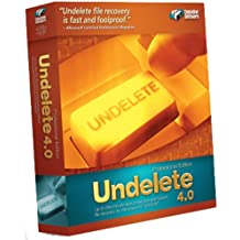 UNDELETE 4 Professional Edition (S W) Single User License Pack CD-ROM