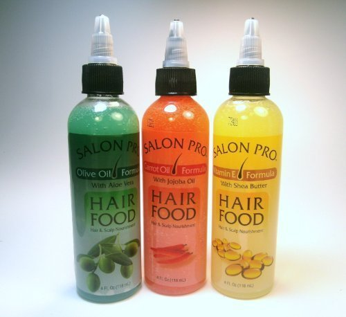 Salon Pro Hair Food - Assorted (Lot of 3)