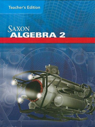 Saxon Algebra 2 Teacher Edition