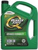 Quaker State 550038290-3PK Advanced Durability 5W-20 Motor Oil (SN/GF-5) 3 5qt jug
