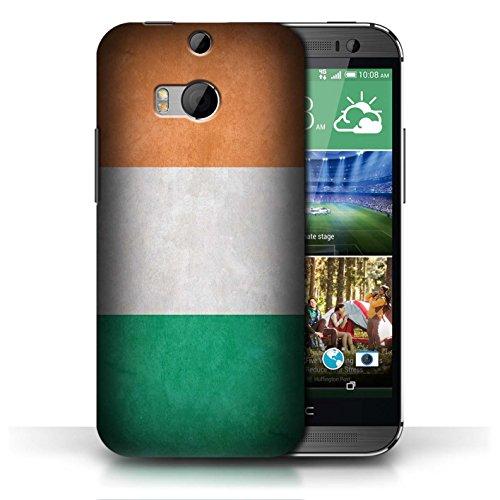 Etui / Coque pour HTC One/1 M8 / Irlande/irlandais conception / Collection de Drapeau